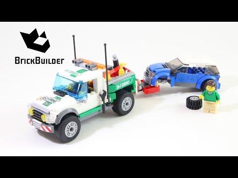"""Конструктор Lego City 60081 """"Буксировщик автомобилей"""""""