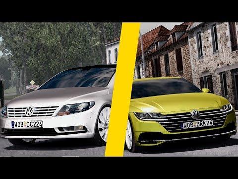 2013 Volkswagen Passat cc + 2018 Arteon 10.08.17
