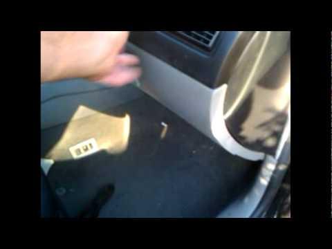 how to remove glove box zafira b