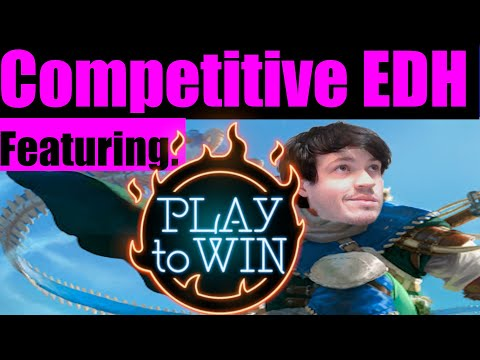 cEDH Gameplay with Play To Win | Winota v Bruse/Thras v Kinnan v Thras/Vial | ComedIan MTG