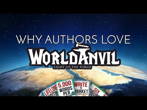 Why Authors Love World Anvil