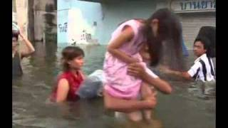 Bangkok Flood Latest News, Thai Floods Threaten Bangkok