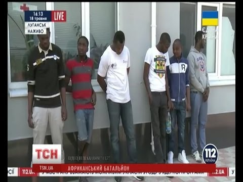 У Луганську сепаратисти захопили 20 нігерійців