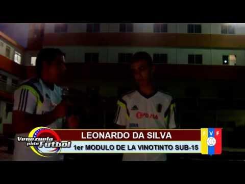 Leonardo Da Silva (Primer Modulo de la Vinotinto Sub-15)
