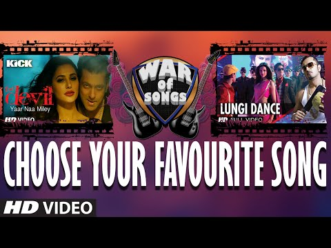 War of Songs - Yaar Na Mile OR Lungi Dance - Vote Now...