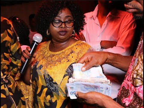 Saint Janet Mind Blowing Performance As They Spays Her Money At Event For Special People.