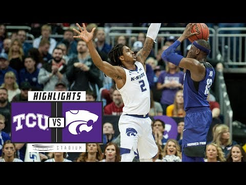 TCU vs. No. 15 Kansas State Basketball Highlights (2018-19) | Stadium