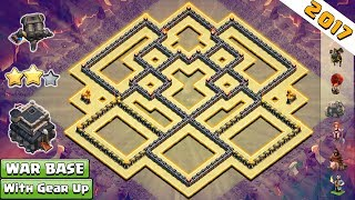 Clash of Clans - We are here with the anti-2 star Town Hall 9 War Base. This base is built with the new Clash of Clans updates for the year 2017. This Base will help you to win the clan wars. From this base opponent can't claim more than 2 star.But remember you need max defensive troops in your Clan Castle. So request your clan mate for max wizard, max balloons, and max valk. With these troops this base is perfect.Hope You guys like this War base. If you do then please like and share this video.SUBSCRIBE to my Channel if you have not subscribed it yet because many good bases are coming soon that you don't want to miss.-----------------------------------------------------------------------------------------------------------Subscribe : https://goo.gl/52Hu3iFacebook Page : https://www.facebook.com/baseofclans/twitter : https://twitter.com/BaseofClansClash of Clans is an addictive multi-player game which consists of fast paced action combat. Build and lead your personalized armies through enemy bases taking gold, elixir and trophy's to master the game and become a legend. Up-rise through the realms and join a clan to reign supreme above all others.----------------------------------------------------------------------------------------------------------------Music provided by NoCopyrightSoundsSong: Alan Walker - Fade [NCS Release]Video Link: https://www.youtube.com/watch?v=bM7SZ5SBzyYNCS➞ Spotify: http://spoti.fi/NCS➞ SoundCloud: http://soundcloud.com/nocopyrightsounds➞ Facebook: http://facebook.com/NoCopyrightSounds➞ Twitter: http://twitter.com/NCSounds➞ Google+: http://google.com/+nocopyrightsoundsAlan Walker➞ Facebook: https://www.facebook.com/alanwalkermusic/➞ SoundCloud: https://soundcloud.com/alanwalker➞ Twitter: https://twitter.com/IAmAlanWalker➞ YouTube: https://www.youtube.com/user/DjWalkzz ----------------------------------------------------------------------------------------------------------------Related Searches:th9 war base with double cannon,th9 war base with gear up cannon,gear up cannon,Double Cannon,town hall 9 anti 2 stars war base,th9 war base 2017,th9 war base anti everything,th9 war base anti 3 star,th9 war base anti 2 star,anti gova, anti valk, anti bowler,clash of clans,coc, th9,th9 war base without xbows,th9 war base anti Iavaloon,th9 war base anti valkyrie,th9 best base,town hall 9 war base 2017,town hall 9 best war base,clash of clans town hall 9 war base new update,clash of clans town hall 9 top war base,clash of clans th9 war base 2017,clash of clans th9 war base new update,clash of clans th9 war base anti everything,