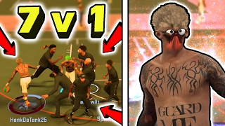 CRAZY 1v7 • CAN 7 PEOPLE GUARD ONE DRIBBLE GOD? • SHOOTEVERYONE EXPOSED • ULTIMATE DRIBBLE GOD TEST