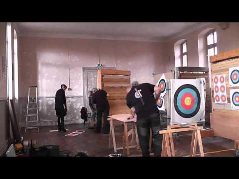 Fabrication salle de tir à larc