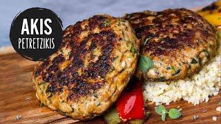 Chicken Burger Patties   Akis Kitchen by Akis Kitchen