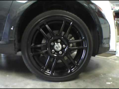 how to paint scion tc rims