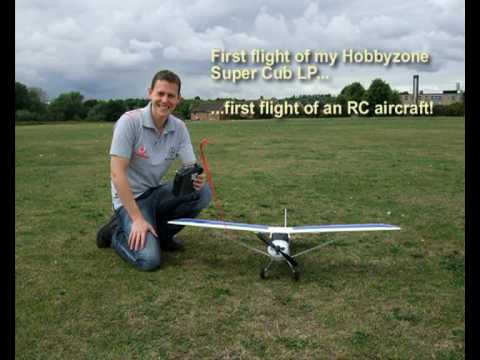 Hobbyzone Super Cub LP First Flight of any RC Plane