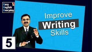 Video English lessons for beginners | How to Improve Writing Skills | Tips to Improve Communication Skills MP3, 3GP, MP4, WEBM, AVI, FLV Juli 2018