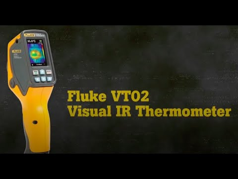 Visual Thermometer | with IR fusion | Fluke FK- VT02 Video Image