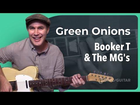 Green Onion Guitar Lesson
