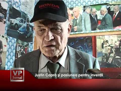 Justin Capră şi pasiunea pentru invenţii