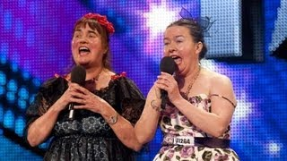 Ina and Jean - Britain's Got Talent 2012 audition - International version