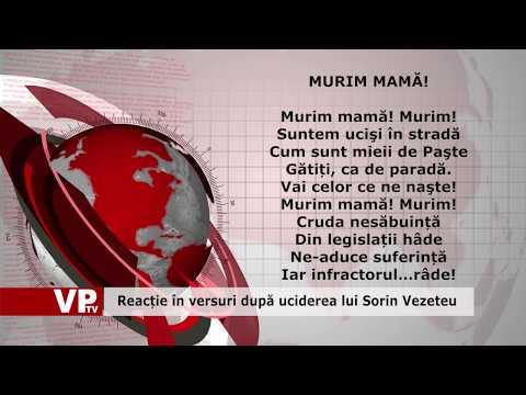 Reacție în versuri după uciderea lui Sorin Vezeteu