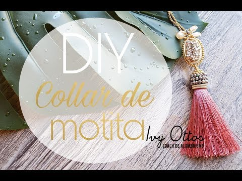 DIY Tutorial Collar De Motita Alambrismo
