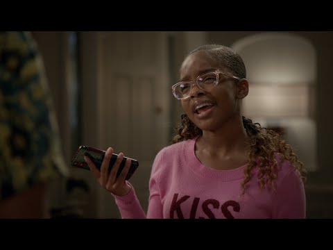 Diane Busts Junior on His Migos Lies - black-ish