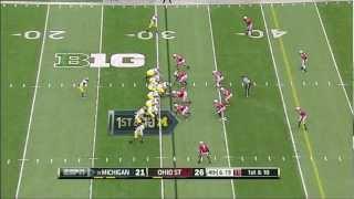 Taylor Lewan vs Ohio State (2012)