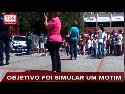 ATIVIDADE DA PSP COM CRIANÇAS GERA CRÍTICAS