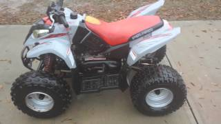 9. 2003 Polaris Predator 90 Walk around and start up