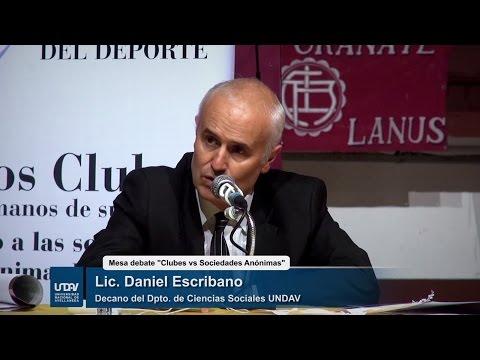 """Mesa debate """"Clubes versus Sociedades Anónimas"""""""