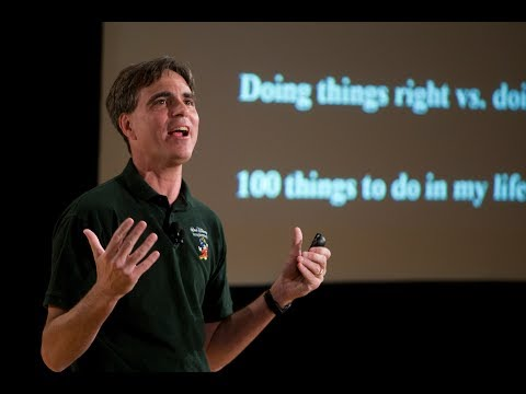 The Last Most inspiring Lecture Of Randy Pausch