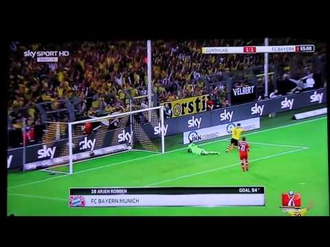 Borussia Dortmund-Bayern Monaco 4-2 SKY HD - Highlights - Sintesi - All Goals - © Supercoppa