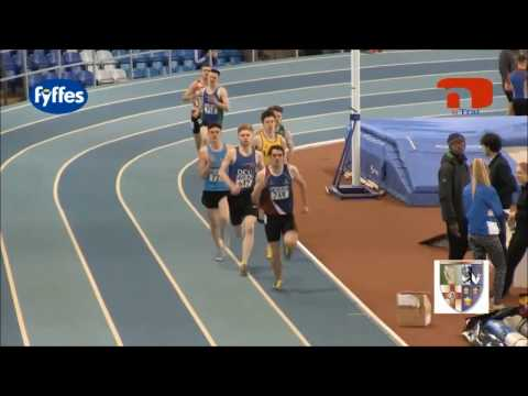 FrontRunner In Track Race Gets Taken Out By Safety Pole Vault