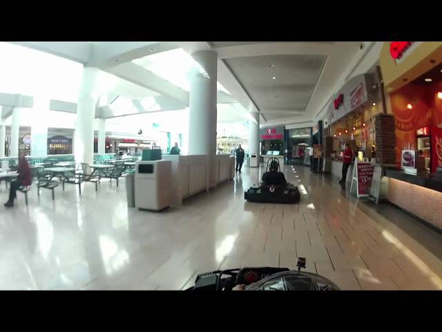 Go Karts in Mall