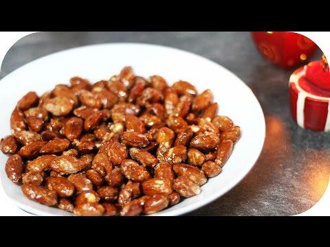GEBRANNTE MANDELN Selbermachen! - Last Minute Geschenk Idee   Sanny Kaur