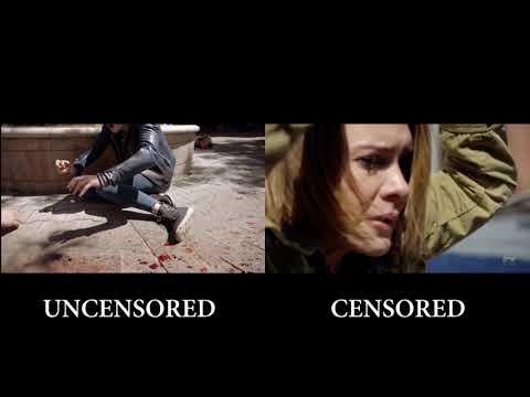 American Horror Story S07E06 Shooting Scene Censored vs. Uncensored