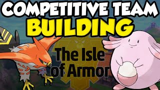 Competitive Pokemon Team Building Day! New Pokemon Teams Before Next Season! by Verlisify
