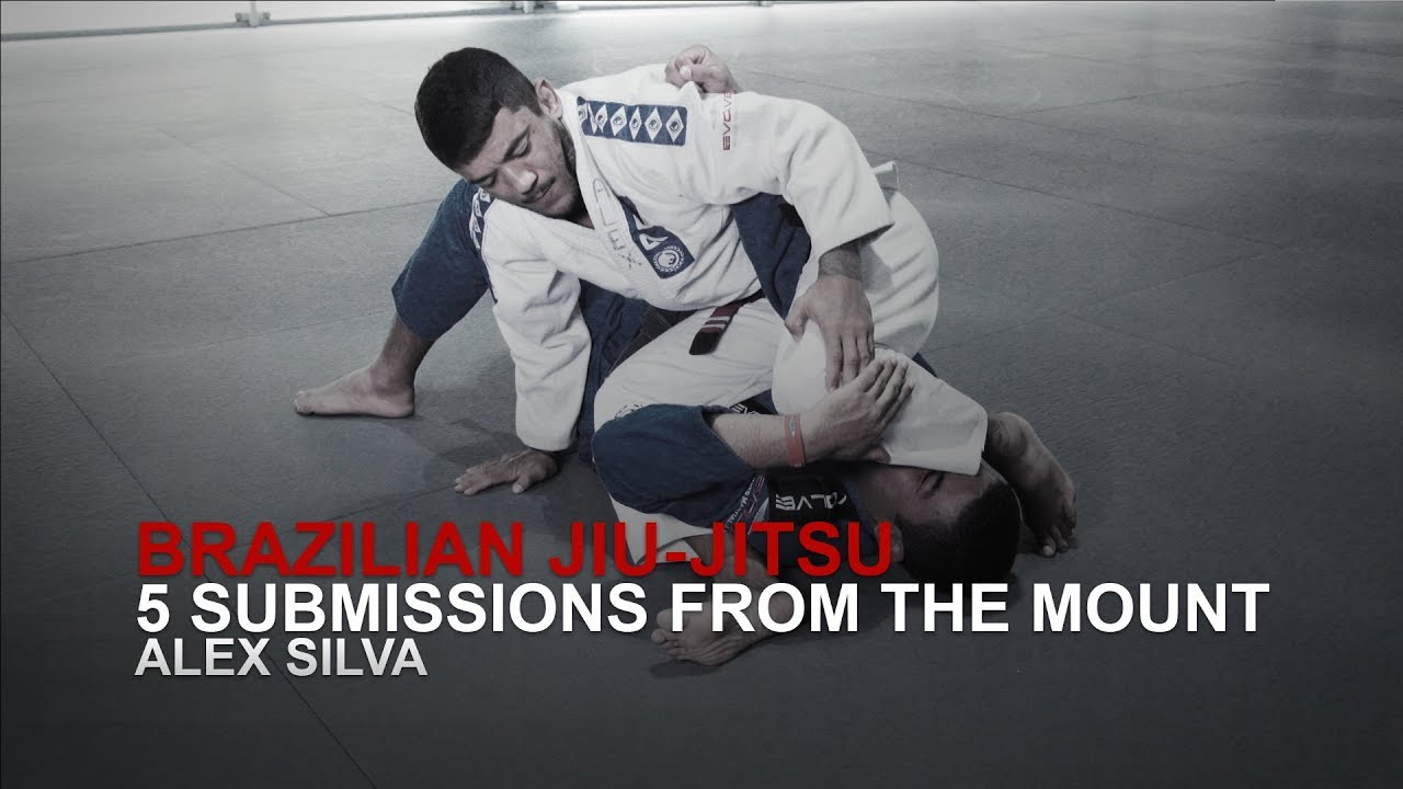 BJJ: 5 Submissions From The Mount | Evolve University