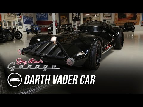 Watch Jay Leno Test Drive This LifeSize Darth Vader Hot Wheels