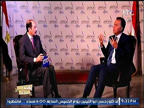 لقاء مع د. هشام عرفات وزير النقل حول قطاع النقل في مصر