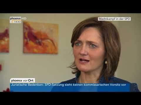 Simone Lange (SPD) zur ihrer Kandidatur für den Parteiv ...