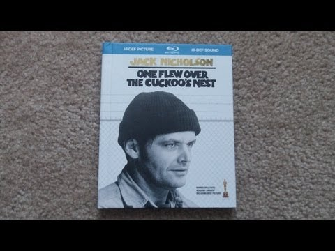One Flew Over The Cuckoo's Nest Blu-Ray DigiBook Unboxing!