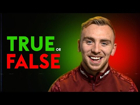 You will NEVER guess Jarrod Bowen's New Year's Resolution! | TRUE or FALSE