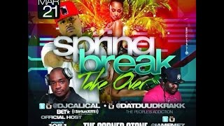 SAT.March21st  TeamGeneral present SpringBreak TakeOver/ HOSTED @power1051 @iamemez @djcalical