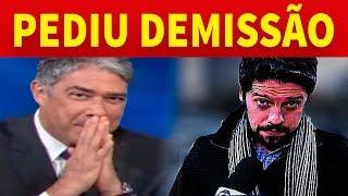 Jornalista do Jornal Nacional pede Demissão da Globo e o Motivo é Especulado