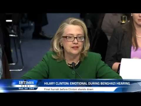 Love her -Secretary of State Hillary Clinton got testy on Capitol Hill