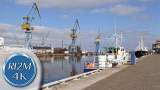 Wismar Germany  City new picture : 4K UHD Relaxing Video: Wismar, Germany - Hafen (Harbor), Westhafen (Western Harbor)
