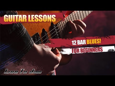 Learn How To Play Blues Guitar Lessons – 12 Bar Blues For Beginners