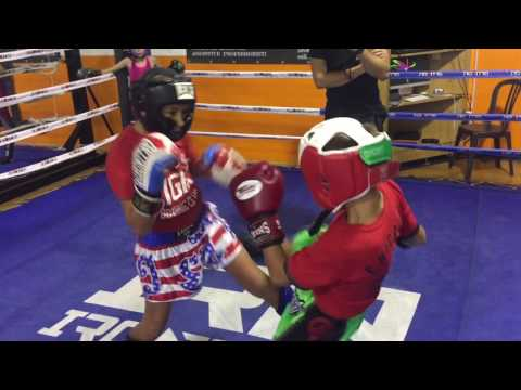 Sparring Bambini kick Boxing