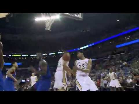 high - Anthony Davis climbs the ladder for the high-flying alley-oop spike. About the NBA: The NBA is the premier professional basketball league in the United States and Canada. The league is truly...