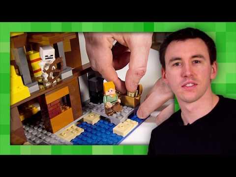 The Farm Cottage - LEGO Minecraft - 21144 - Designer Video